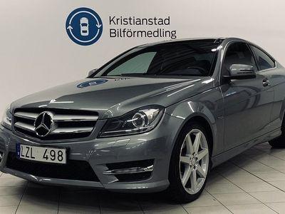 begagnad Mercedes 220 C-KlassCDI Coupé Aut Amg Panorama Navi 170hk