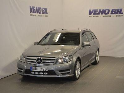 begagnad Mercedes C220 CDI AMG Kombi Aut Drag Na -13