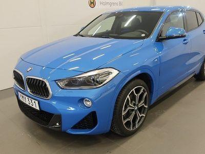 begagnad BMW X2 sDrive 18i M-Sport. Drag 2018, SUV 329 900 kr