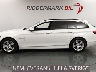 begagnad BMW 520 d Touring Sportstolar Skinn M-Ratt EU6 190hk
