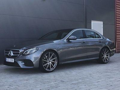 begagnad Mercedes E200 AMG / Värmare / Panorama / Navi