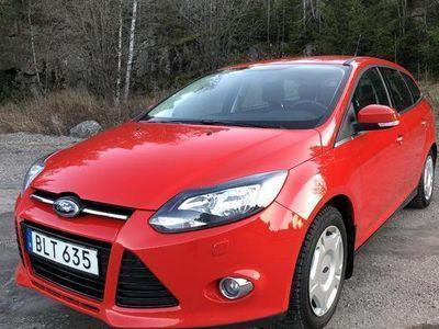 begagnad Ford Focus 1.6 Flexifuel Kombi 2014, Personbil 85 000 kr