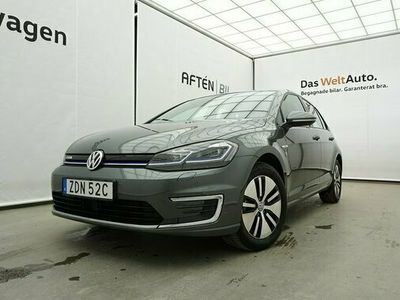 begagnad VW Golf Plus E-Golf 35.8 kWh Pluspaket INVIGNINGS 2020, Halvkombi Pris 279 800 kr