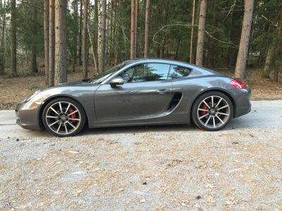 begagnad Porsche Cayman S 3,4 H6 PDK, 981, 325hk -14