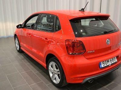 begagnad VW Polo TSi 90 HK Masters R-line ext
