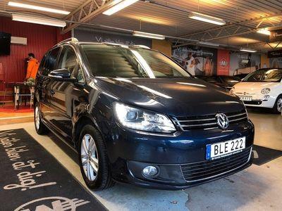begagnad VW Touran 2.0 TDI DSG Sekventiell Co -13