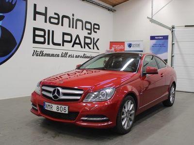 begagnad Mercedes 220 C-KlassCDI CDI Coupé 7G-Tronic Plus 170hk