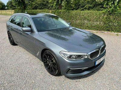 begagnad BMW 530 d xDrive Touring kombi headup drag g31 Automat pannorama Euro 6 265h