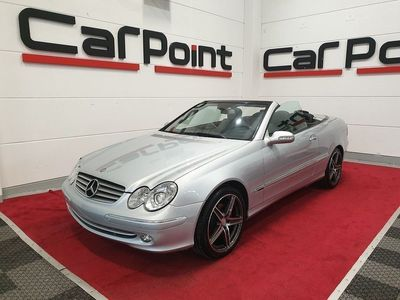 begagnad Mercedes CLK280 Cabriolet Elegance Avantgarde Nyservad