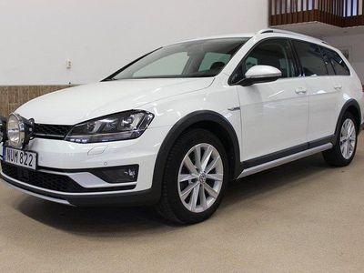 begagnad VW Golf Alltrack 2.0 TDI EU6 184HK 4M