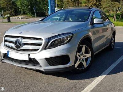 käytetty Mercedes GLA220 CDI Aut 4MATIC AMG Panorama -15