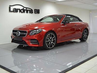begagnad Mercedes E53 AMG AMG4MATIC 4MATIC+ Cabriolet 3.0 4MATIC+ Euro 6 435hk