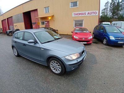 begagnad BMW 116 Nybes ua. Fullservad. Svensksåld