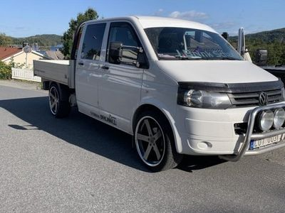 begagnad VW Transporter Chassi Double Cab 2.0