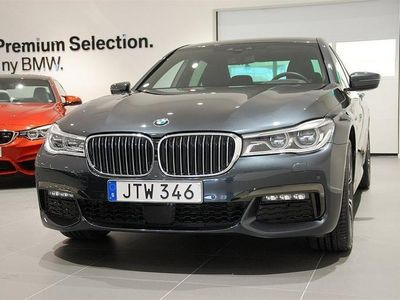 begagnad BMW 730 d Xdrive M-Sport / Navigation / Execu -16