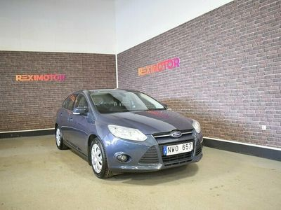 begagnad Ford Focus 1.6 Ti-VCT LPG 117hk Ny Besiktad