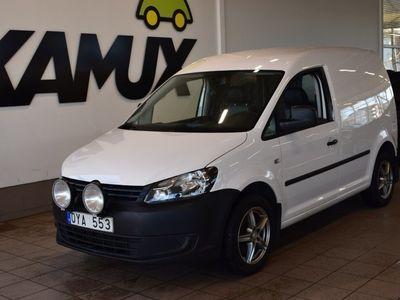 begagnad VW Caddy 2.0 EcoFuel Manuell, 109 hk