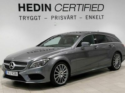begagnad Mercedes CLS350 Shooting Brake - BenzNYSERVAD / 4MATIC / VÄRMARE / AMG LINE