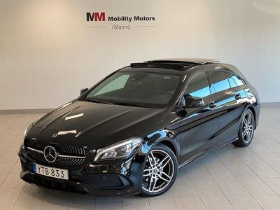 begagnad Mercedes CLA200 Shooting Brake d SB Night Package AMG/PANO/DRAG