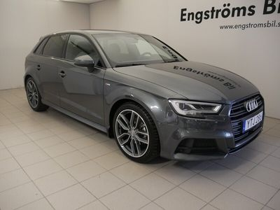 begagnad Audi A3 TFSI 150Hk S-LINE Black