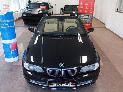 brugt BMW 330 Cabriolet Ci Ci Convertible Automat 231hk SV-Såld Navi 0%Ränta