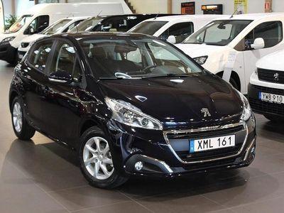begagnad Peugeot 208 Active PureTech 5D -Demo 2019, Halvkombi Pris 114 800 kr