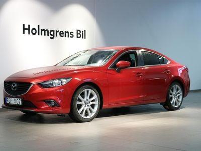 begagnad Mazda 6 SEDAN 2,2 DIESEL 175HK, bränslevärmare!