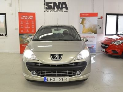 begagnad Peugeot 207 1.6VTi DRAG 120HK P-Hjälp Kedja 0%Ränta