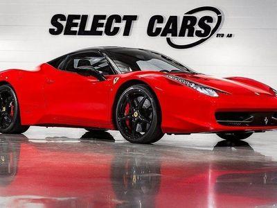 begagnad Ferrari 458 Italia 4.5 V8 DCT 570hk