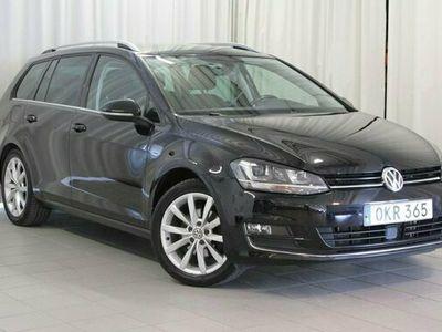 begagnad VW Golf Sportscombi 2.0 TDI 150hk 4Motion Vhjul Adapt Fh BT AC