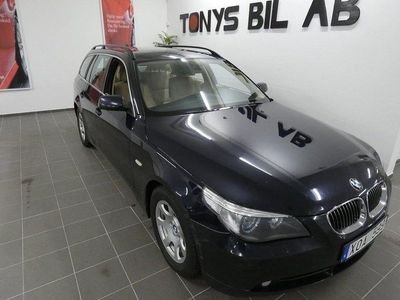 begagnad BMW 525 d Touring Automat 177hk / Ny servad