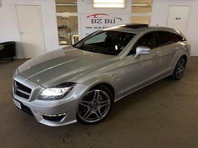 begagnad Mercedes CLS63 AMG AMG PERFORMANCE Shooting