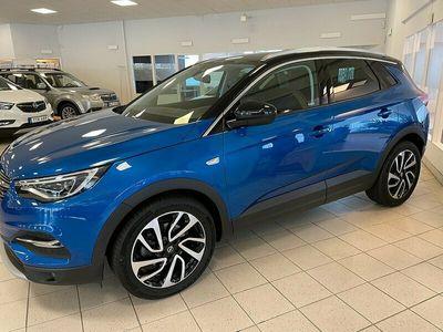 begagnad Opel Grandland X 1.6 Automat Euro 6 120hk, låg skatt