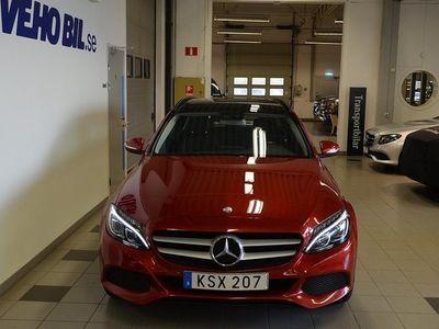 begagnad Mercedes 220 Benz C Panorama, Burmester, Multibeam 2015, Personbil 229 000 kr