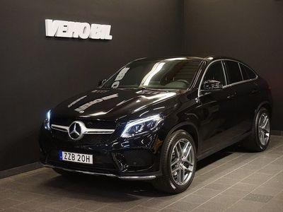 begagnad Mercedes GLE350 4MATIC Coupé Värmare Panorama Drag Navi 360-Kamera