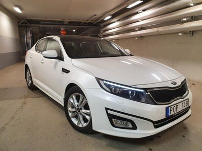 begagnad Kia Optima 1.7 CRDI (Panoramatakglastak)