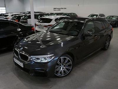 begagnad BMW 540 i xDrive Innovation Ed Massage Night Vision Panorama 2018, Kombi 509 900 kr