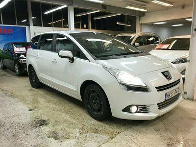 begagnad Peugeot 5008 1.6 HDi FAP EGS,ny bes,servad,3 ägare, 111hk