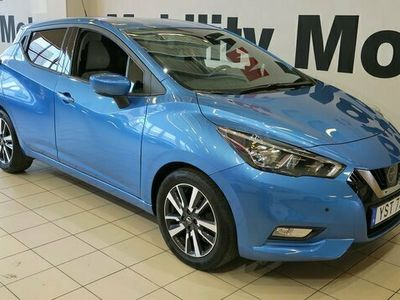 begagnad Nissan Micra 1.0 Euro 6 71hk SAFETY-PACK SENSORER
