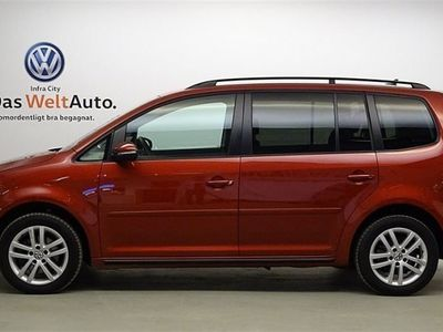 begagnad VW Touran TDI 105 BMT Masters/Drag/Nav/Backkamera