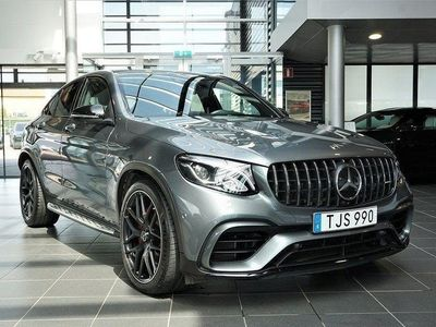 begagnad Mercedes GLC63 AMG Coupe Leasebar Nypris 1