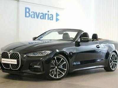 begagnad BMW 430 i Cab M sport Innovation pkt Drag Harman Kardon 2021, Sportkupé Pris 698 700 kr