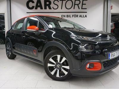 begagnad Citroën C3 Feel Apple carplay 2018, Halvkombi 104 900 kr