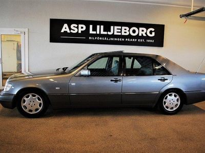 begagnad Mercedes 600 SEL V12 SVENSKSÅLD 5750 MIL