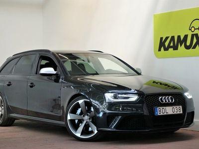 used Audi RS4 4.2 FSI V8 Q Black Optik Navi DRC Sv-såld (450hk)