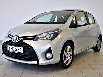 begagnad Toyota Yaris Hybrid 1.5 VVT-i CVT 101hk