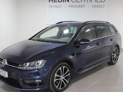 begagnad VW Golf SportsCombi R-Line 2.0TDi 150HK DSG Dragkrok