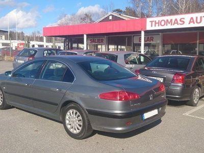 begagnad Peugeot 607 2,0i sedan -03