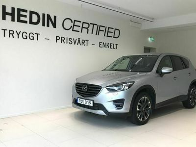 begagnad Mazda CX-5 2.2 SKYACTIV-D AWD OPTIMUM EURO 6 175HK MOTORVÄRMARE MED FJÄRR V-HJUL