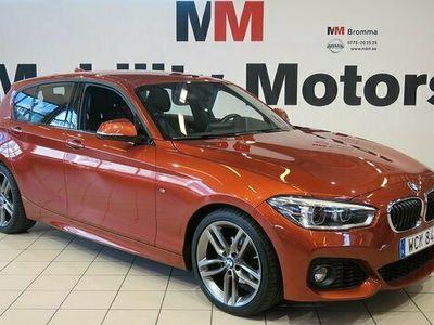 begagnad BMW 118 i 5-dörrars Steptronic M Sport Euro 6 136hk